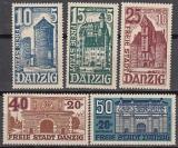 Danzig Mi.-Nr. 262/66 **