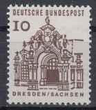 Bund Mi.-Nr. 348 x R ** 5er Streifen
