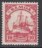 Dt. Kol. Samoa Mi.-Nr. 9 *