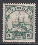 Dt. Kol. Samoa Mi.-Nr. 21 *