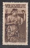 Saar Mi.-Nr. 199 oo gepr.