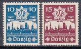 Danzig Mi.-Nr. 267/68 **