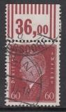 Deutsches Reich Mi.-Nr. 421 W OR 2`9`2 oo gepr. BPP