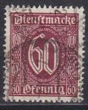 Deutsches Reich Dienst Mi.-Nr. 101 Pb oo gepr.