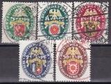 Deutsches Reich Mi.-Nr. 430/434 oo
