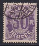 Deutsches Reich Dienst Mi.-Nr. 21 I oo gepr.