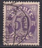 Deutsches Reich Dienst Mi.-Nr. 22 I oo gepr.