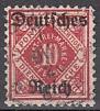 Deutsches Reich Dienst Mi.-Nr. 53 II oo gepr.