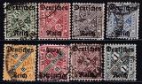 Deutsches Reich Dienst Mi.-Nr. 57/64 oo
