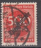 Deutsches Reich Dienst Mi.-Nr. 81 oo gepr.