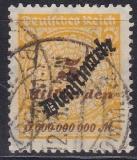 Deutsches Reich Dienst Mi.-Nr. 85 oo gepr.