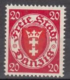 Danzig Mi.-Nr. 196 xba ** gepr.