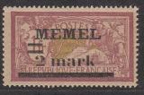 Memel Mi.-Nr. 28 x **