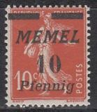 Memel Mi.-Nr. 53 **