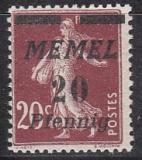 Memel Mi.-Nr. 56 **
