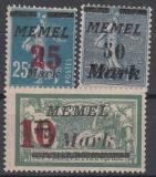 Memel Mi.-Nr. 121/23 **