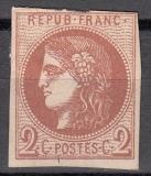 Alt - Frankreich Mi.-Nr. 37 b (*) Mgl.