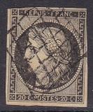 ALT - Frankreich Mi.-Nr. 3 y