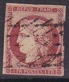 ALT - Frankreich Mi.-Nr. 7 a oo Mgl.