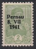 Deutsche Besetzung Estland/Pernau Mi.-Nr. 2 II **