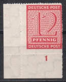 SBZ Mi.-Nr. 116 DX ** gepr. BPP