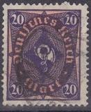 Deutsches Reich Mi.-Nr. 207 W oo gepr.