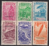 sp. Andorra Benefiz Ausgabe 1938 **