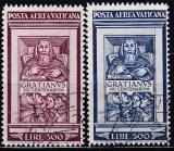 Vatikan Mi.-Nr. 185/86 oo Viererblock