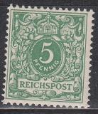 Deutsches Reich Mi.-Nr. 46 c ** gepr.