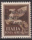 Deutsche Besetzung Zara Mi.-Nr. 24 ** gepr.