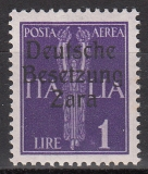 Deutsche Besetzung Zara Mi.-Nr. 27 **