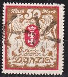 Danzig Mi.-Nr. 100 Yb oo gepr. dünn