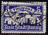 Danzig Mi.-Nr. 116 oo gepr.