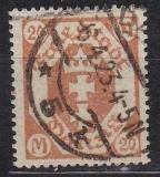 Danzig Mi.-Nr. 124/28 X oo gepr.