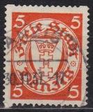 Danzig Mi.-Nr. 193 Dx oo gepr.