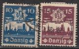 Danzig Mi.-Nr. 267/68 oo