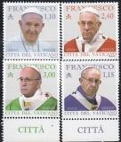 Vatikan Mi.-Nr. 1951/54 **