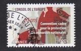 Frankreich-Europarat Mi.-Nr. 77 oo