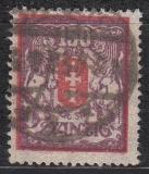 Danzig Mi.-Nr. 129 Y oo gepr.