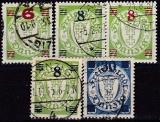 Danzig Mi.-Nr. 240/42 oo gepr.