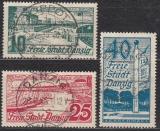 Danzig Mi.-Nr. 259/61 oo
