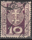 Danzig Porto Mi.-Nr. 1 a oo gepr.