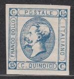 Italien Mi.-Nr. 15 II (*)