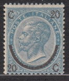 Italien Mi.-Nr. 25 III ** gepr.
