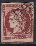 Alt - Frankreich Mi.-Nr. 3 y oo