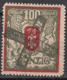 Danzig Mi.-Nr. 101 Y oo Fotobefund