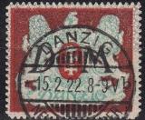 Danzig Dienst Mi.-Nr. 21 X oo gepr.
