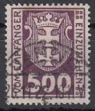 Danzig Porto Mi.-Nr. 12 b oo gepr.