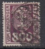 Danzig Porto Mi.-Nr. 13 a oo gepr.