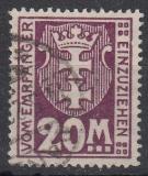 Danzig Porto Mi.-Nr. 14 oo gepr.